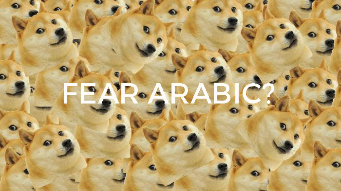 scared of arabs